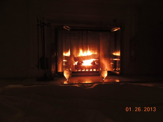 Taj Boston:                   Fireplace