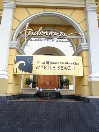 Anderson Ocean Club & Spa, Oceana Resorts: Front