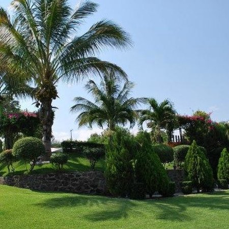 Casa Domingo Hotel Petit : Bellos y Amplios Jardines