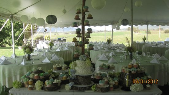 Bridge Road Bistro: An Autumn Wedding we catered at a Lewisburg Farm...for 300 Guest