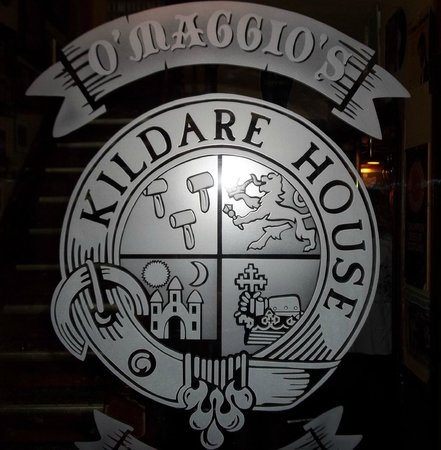 O'Maggio's Kildare House: Sign on the Door