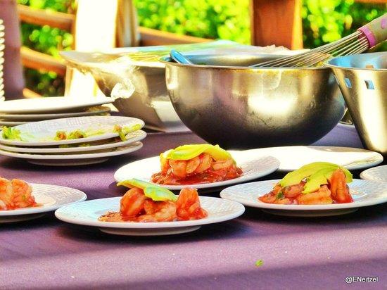 Hacienda Tres Rios:                                     Cooking class with Chef Oscar