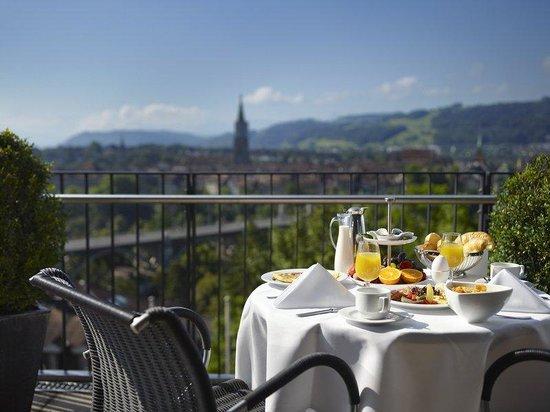 Hotel Allegro Bern: Panoramic view over Bern