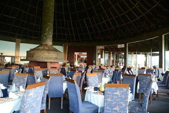 Ngorongoro Sopa Lodge:                   dining