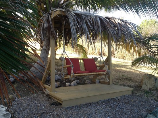 Villa Margarita :                                     Sunset swing