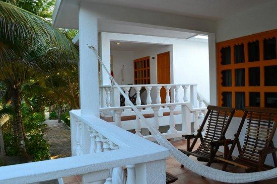 Cabanas Tulum:                   Balcons