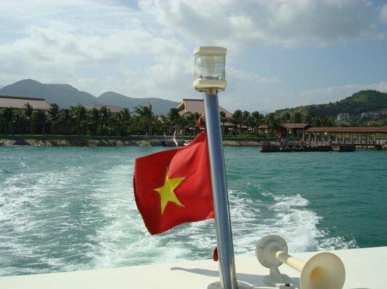 วินเพิร์ล ลักชูรี ญาจาง: The ride on the speedboat