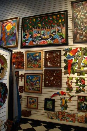 Haitian Gallery :                   Beautiful Haitian folk art paintings