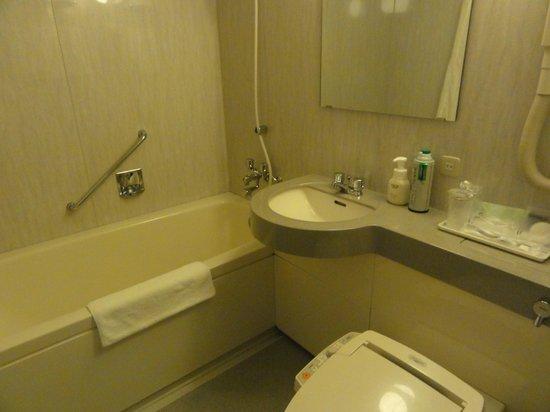 Hotel WBF Sapporo Odori:                   バスルーム