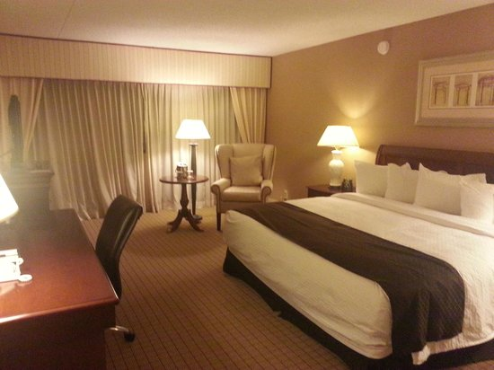 DoubleTree by Hilton Hotel Newark Airport:                   room 543