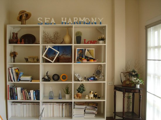 Sea Harmony: the cabinet