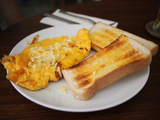Cafe Siam Breakfast Cafe:                   Omelette