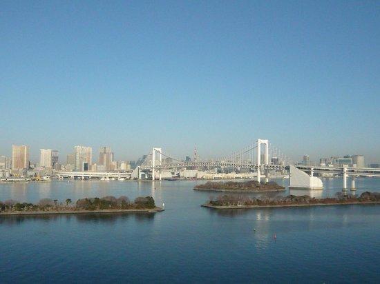 Hilton Tokyo Odaiba:                   バルコニーからの眺め