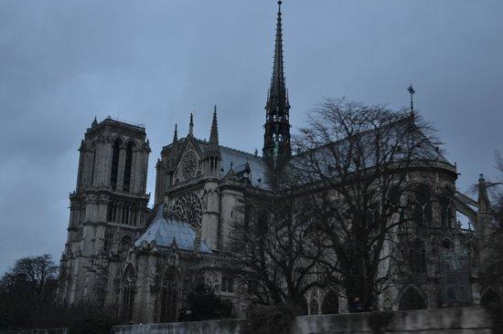 Île de la Cité : Notre Dame desde el Sena