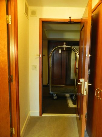 Hyatt Regency Century Plaza:                   Room - door