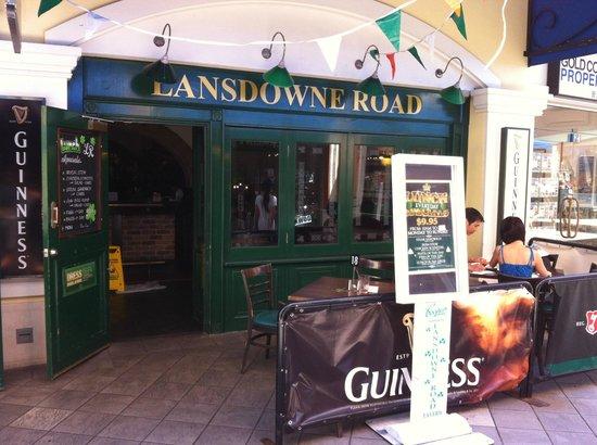 Lansdowne Road Irish Tavern:                                     outside