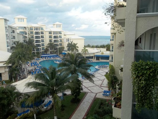 Occidental Costa Cancun :                   view from room 549 balcony