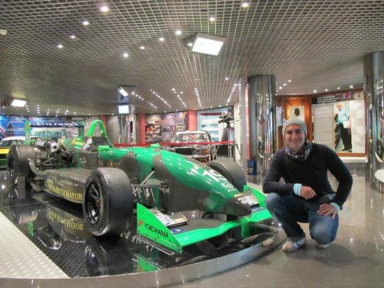 Grand Prix Museum:                   Среди экспозиции