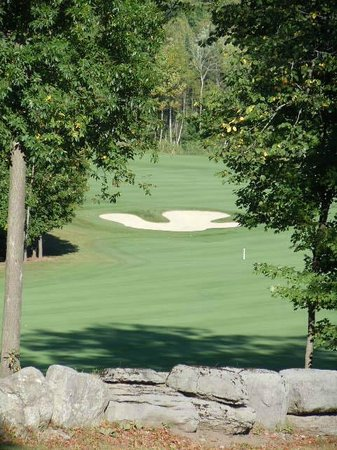 Black Bear Ridge Golf Club :                   Views at Black Bear Ridge