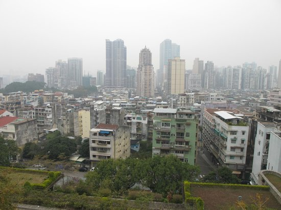 Macao Museum:                   Вид со смотровой площадки на город