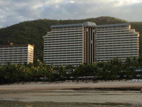 Reef View Hotel:                   Hotel from beach