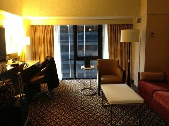 New York Marriott Marquis: Room 2240
