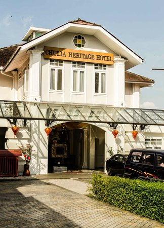 Chulia Heritage Hotel:                                     The hotel front