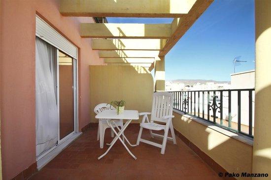 Hotel Sevilla: TERRAZA