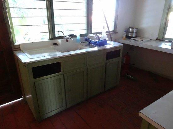 Banana Republic Guesthouse:                   Cocina