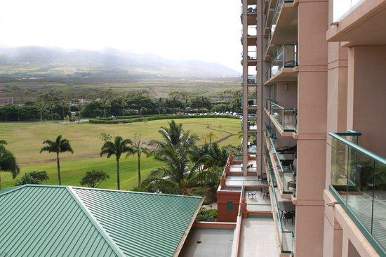 Honua Kai Resort & Spa:                                     View from balcony