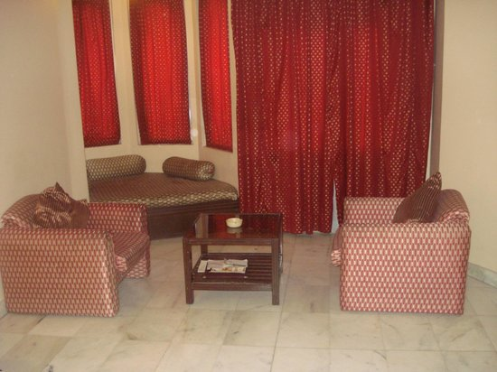 Hotel Vishnupriya:                   room inside room