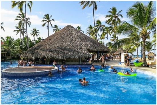 Dreams Punta Cana Resort & Spa:                   Pool Bar