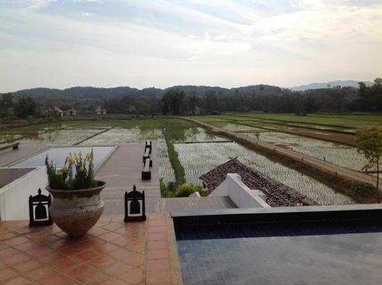 Manee Dheva Resort & Spa:                   A view from the restaurant.