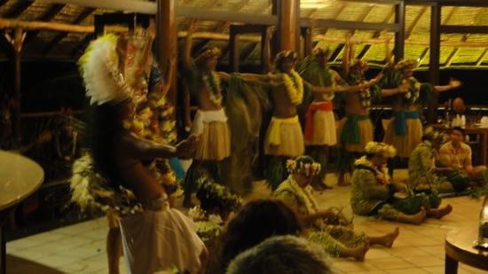 Hilton Moorea Lagoon Resort & Spa:                   polynesian show at the main restaurant