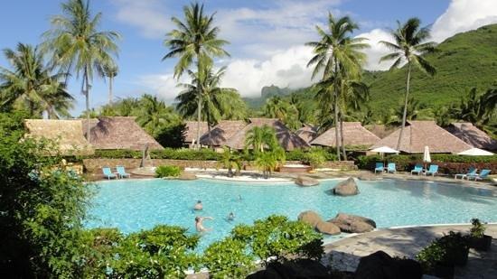 Hilton Moorea Lagoon Resort & Spa:                   swimming pool