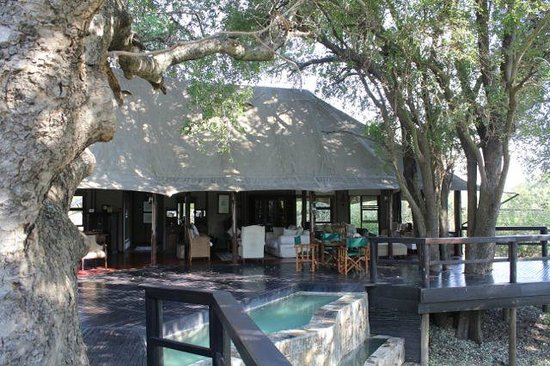 Hamiltons Tented Safari Camp: main lodge