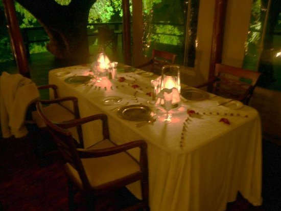 Hamiltons Tented Safari Camp: dining