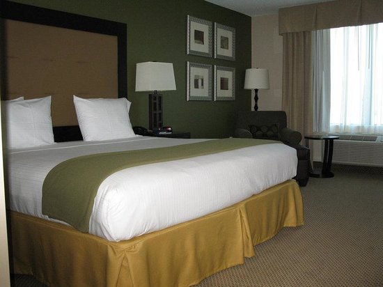 Holiday Inn Express Hotel & Suites Jacksonville - Mayport / Beach: King Bed Guest Room