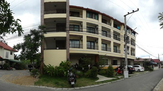 Panorama view of K House Apartment Chiang mai, Thailand