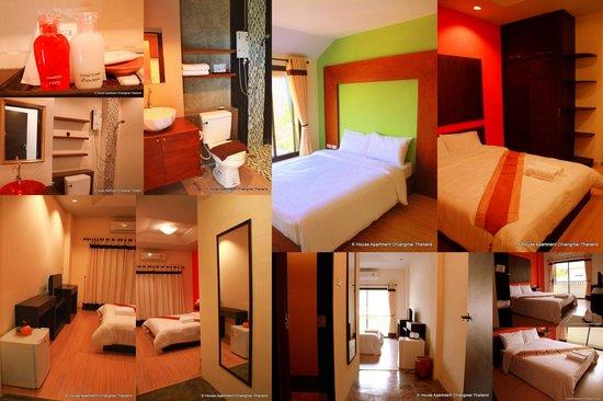 K House Apartment: Standard room