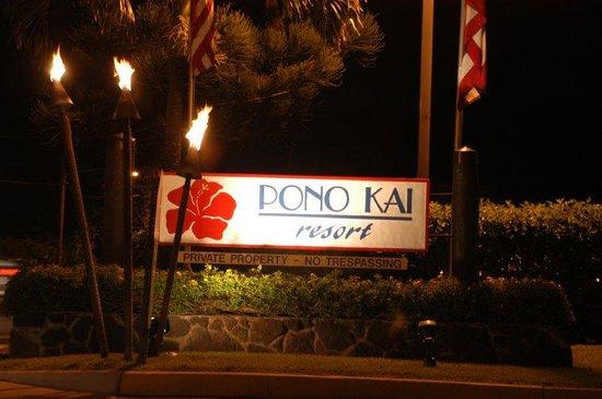 Pono Kai Resort: Pono Kai Sign
