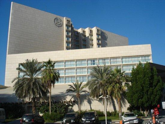 Sheraton Dubai Creek Hotel & Towers : Hotel from Dubai Creek.