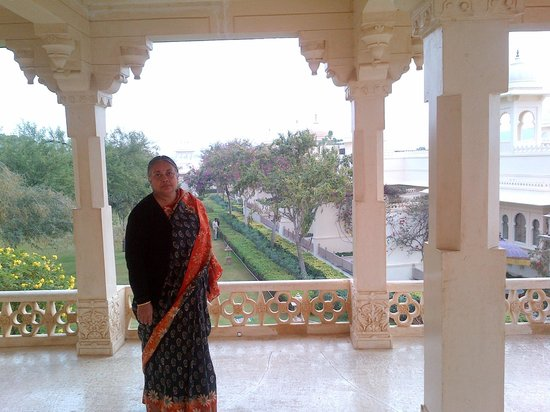 Trident Udaipur: Bara Mahal, is situated within the hotel compound
