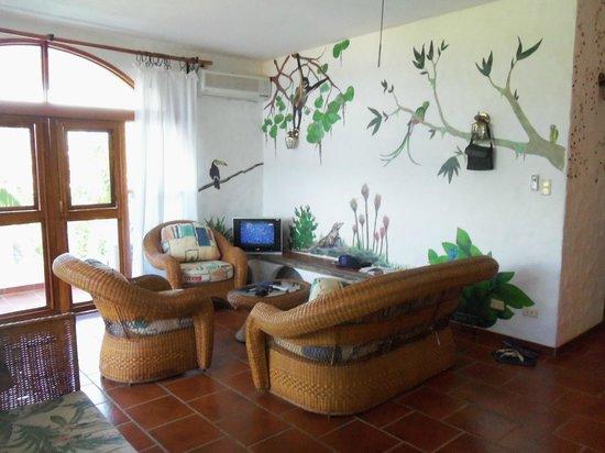 La Colina:                   Good size front room