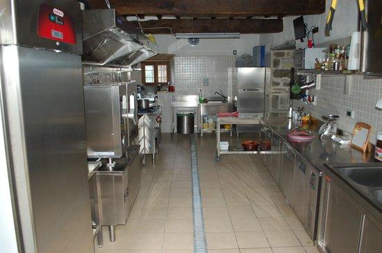 Agriturismo Il Borgo di Faeta: Cucina ristorante