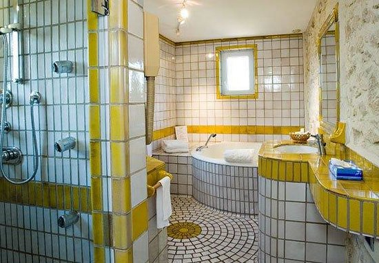 Auberge de Noves : Junior Suite Bathroom