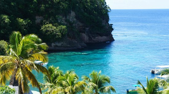 Anse Chastanet:                   Main snorkelling area