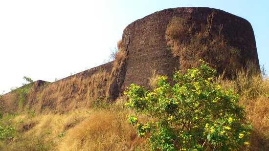 Kasaragod, Ινδία:                   Chandragiri fort