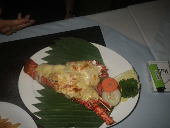 Nelayan Seafood Restaurant: Lobster Thermidore