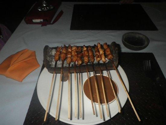 Nelayan Seafood Restaurant: Satay